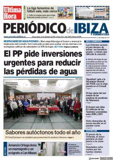 IBZ Y FOR EL PP PIDE INVERSIONES URGENTES PARA REDUCIR LAS PÉRDIDAS DE AGUA