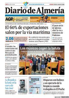 EL ALCALDE Y LOS COMERCIANTES DEL CENTRO EN UNA MESA PARA LA PEATONALIZACIÓN