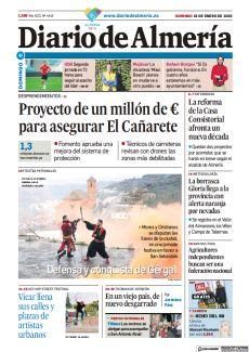 PROYECTO DE UN MILLÓN DE € PARA ASEGURAR EL CAÑARETE