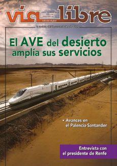EL AVE DEL DESIERTO AMPLIA SUS SERVICIOS