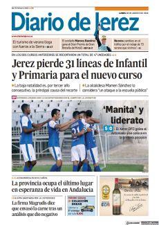 JEREZ PIERDE 31 LÍNEAS DE INFANTIL Y PRIMARIA PARA EL NUEVO CURSO