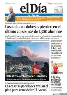 CATÁSTROFE AMBIENTAL EN CANARIAS