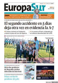 EL SEGUNDO ACCIDENTE EN 5 DÍAS DEJA OTRA VEZ EN EVIDENCIA LA A-7