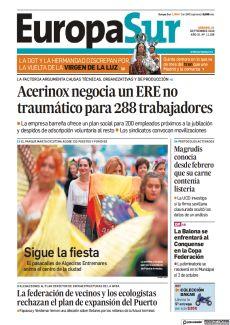 ACERINOX NEGOCIA UN ERE NO TRAUMÁTICO PARA 288 TRABAJADORES