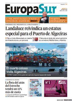 LANDALUCE REIVINDICA UN ESTATUS ESPECIAL PARA EL PUERTO DE ALGECIRAS
