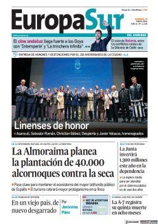 LA JUNTA INVERTIRÁ 1.300 MILLONES ESTE AÑO EN LA DEPENDENCIA