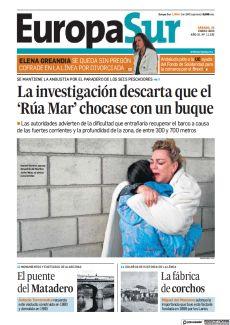 LA INVESTIGACIÓN DESCARTA QUE EL 'RÚA MAR' CHOCASE CON UN BUQUE