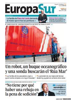 UN ROBOT, UN BUQUE OCEANOGRÁFICO Y UNA SONDA BUSCARÁN EL 'RÚA MAR'
