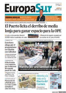 EL PUERTO LICITA EL DERRIBO DE MEDIA LONJA PARA GANAR ESPACIO PARA LA OPE