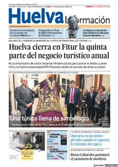 HUELVA CIERRA EN FITUR LA QUINTA PARTE DEL NEGOCIO TURÍSTICO ANUAL
