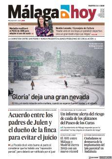 LA CARRETERA ENTRE SAN PEDRO Y RONDA PRESENTÓ ALGUNOS PROBLEMAS DE CIRCULACIÓN
