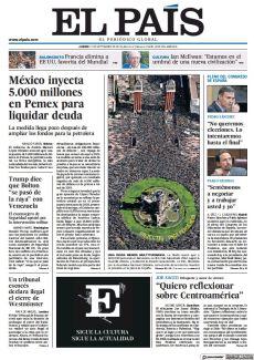 MÉXICO INYECTA 5.000 MILLONES EN PEMEX PARA LIQUIDAR DEUDA