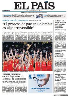 """""""EL PROCESO DE PAZ EN COLOMBIA ES ALGO IRREVERSIBLE"""""""