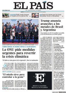 LA ONU PIDE MEDIDAS URGENTES PARA REVERTIR LA CRISIS CLIMÁTICA