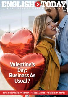 VALENTINE'S DAY: BUSINESS AS USUAL?