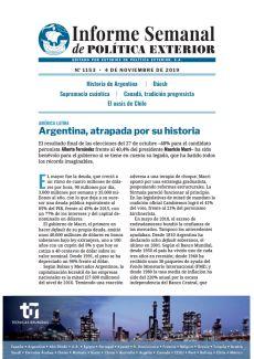 ARGENTINA, ATRAPADA POR SU HISTORIA