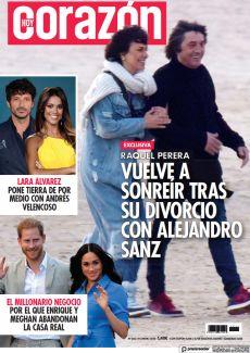 VUELVE A SONREÍR TRAS SU DIVORCIO CON ALEJANDRO SANZ